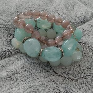 Light blue bracelet